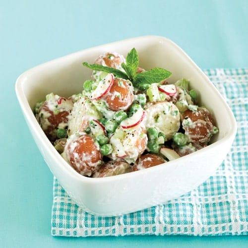 minted potato salad