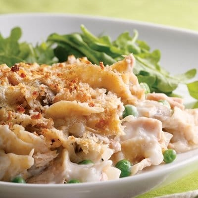 whole wheat tuna noodle casserole