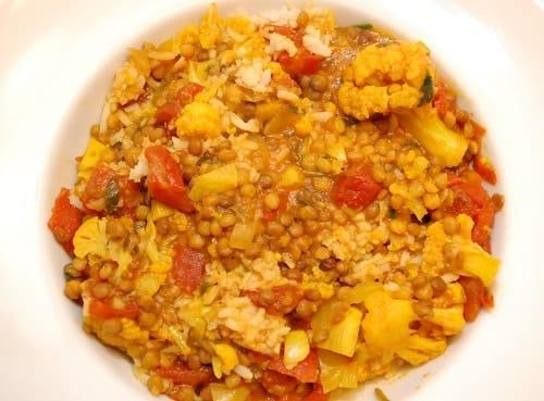 Indian Spiced Lentils
