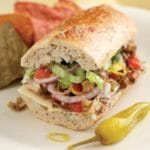 Vegetarian Italian Hoagie Recipe – 6 Points