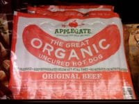 applegate organic beef hot dogs