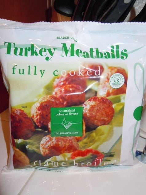 Trader Joe's Turkey Meatballs - 3 Points Plus