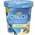 Stonyfield Oikos Organic Nonfat Greek Frozen Yogurt – 3 Points