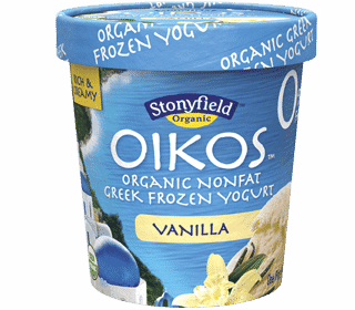 Stonyfield Oikos Organic Nonfat Greek Frozen Yogurt