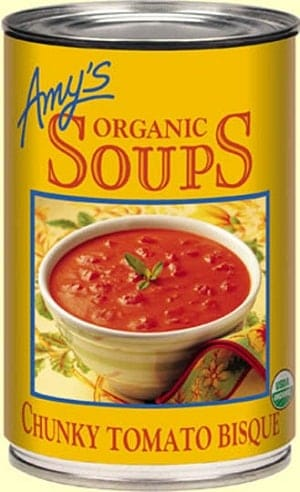 amys organic chunky tomato bisque