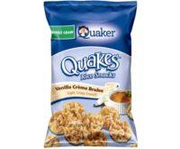 quaker quakes vanilla creme brulee