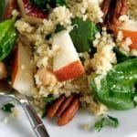 Pear, Quinoa, and Spinach Salad Recipe – 4 Points