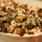 Prosciutto and Pear Stuffing Recipe – 4 Points