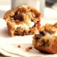 goat cheese and fig muffins