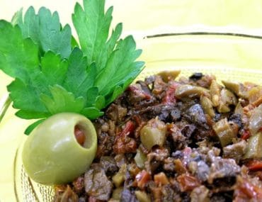 olive and mushroom tapenade