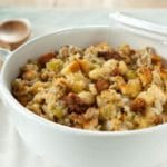 Sage and Sausage Cornbread Stuffing Recipe – 6 Points