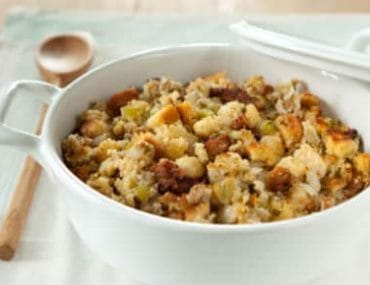 sage and sausage cornbread stuffing