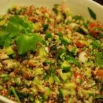 Tabbouleh Recipe with Quinoa – 4 Points