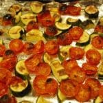 Roasted Tomatoes and Zucchini Recipe – 0 Points