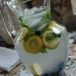 Blueberry Mint Lemonade Recipe – 0 Points