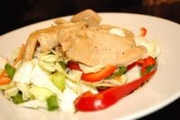 chicken and napa cabbage saladrs