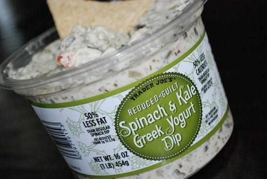 Spinach and Kale Greek Yogurt Dip