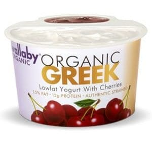wallaby organic greek lowfat yogurt