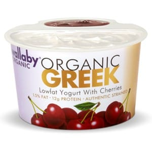 Wallaby Organic Greek Lowfat Yogurt