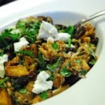 Roasted Eggplant and Goat Cheese Salad Recipe – 4 Points