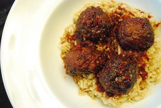 sweet and spicy meatballs crock pot