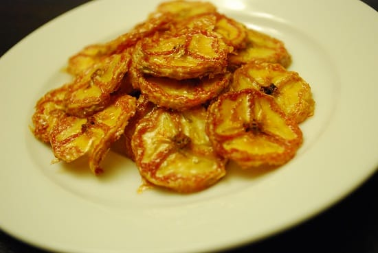 Baked Banana Chips Recipe - 0 Points + - LaaLoosh