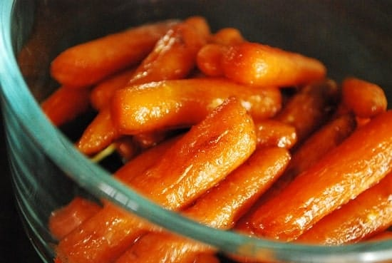 Roasted Balsamic Glazed Carrots