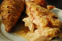 slow cooker chicken cordon bleu1