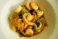 thai coconut basil shrimp