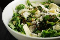 arugula and parmesan salad