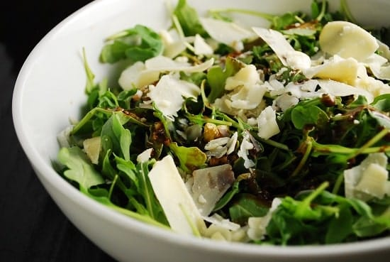 Arugula and Parmesan Salad Recipe