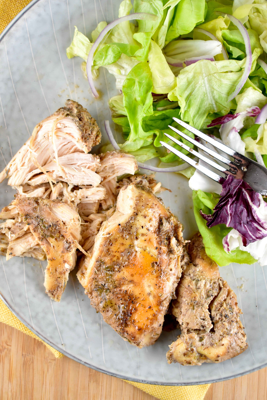 Crock Pot Beer Chicken Recipe - 1 Point - LaaLoosh