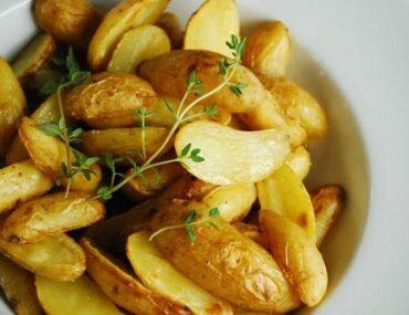 roasted salt and vinegar potatoes