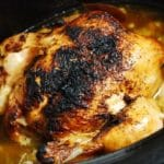 Crock Pot Rotisserie Chicken Recipe – 3 Points