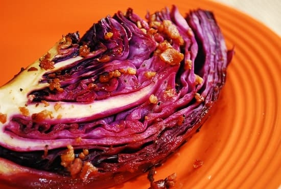 Oven Roasted Cabbage Wedge