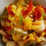 Pineapple Chicken Stir Fry with Bell Peppers – 3 Points