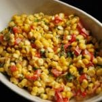 Corn Salad Recipe with Red Pepper and Dill – 3 Points