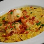 Scallops and Roasted Corn Chowder Recipe – 5 Points