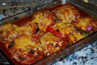 stuffed pepper enchiladas