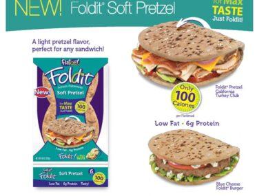 flatout foldit soft pretzel flatbreads