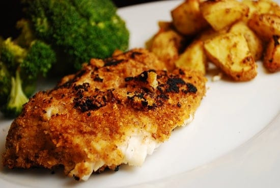 Pecan crusted tilapia recipe 6 points laaloosh for Is tilapia a healthy fish