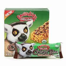 EnviroKidz Organic Peanut Choco Drizzle Crispy Rice Bars
