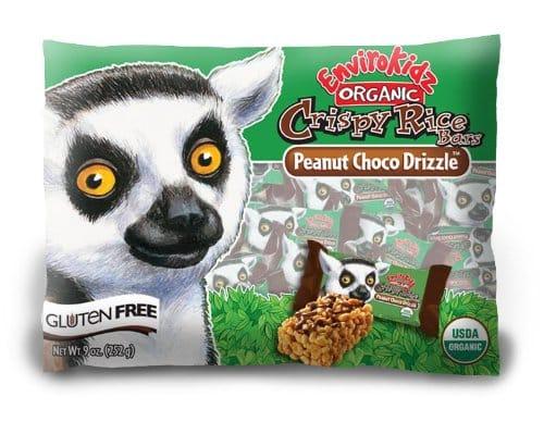 EnviroKids Organic Peanut Choco Drizzle Crispy Rice Bars