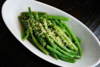 lemon butter green beans