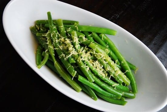 Lemon and Butter Green Beans