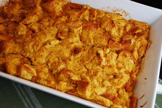 pumpkin french toast bake 1