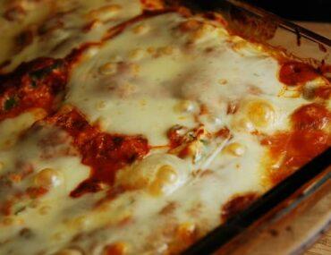 three cheese spaghetti squash casserole