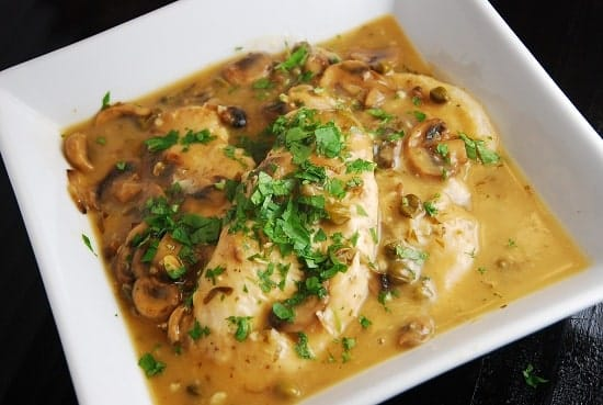 Chicken Piccata Recipe – 4 Points + - LaaLoosh