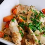 Creamy Crock Pot Tarragon Chicken Recipe – 4 Points