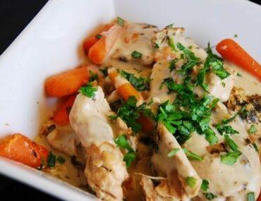 creamy tarragon chicken